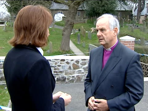 man charged as memorial service held dr barry morgan interview sot - archbishop stock videos & royalty-free footage
