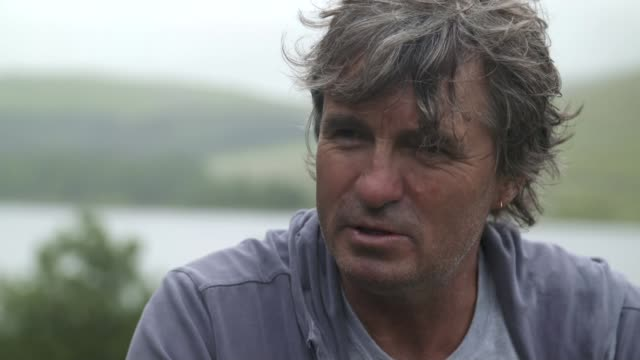 Father visits Brecon Beacons where his son died on an SAS training march WALES Brecon Beacons EXT David Dunsby interview SOT/ David Dunsby and...