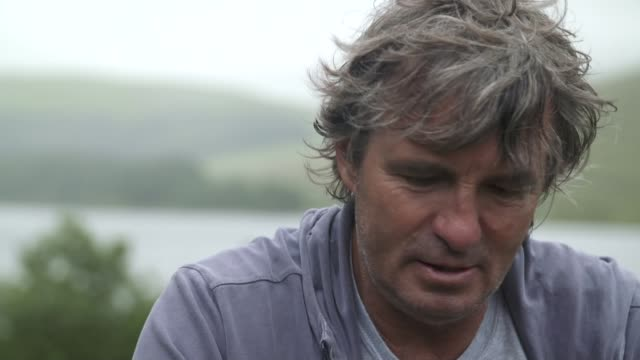 Father visits Brecon Beacons where his son died on an SAS training march David Dunsby interview SOT