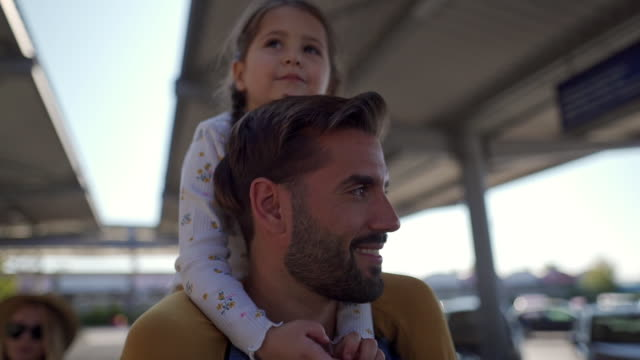 father-daughter bond - sunglasses stock videos & royalty-free footage
