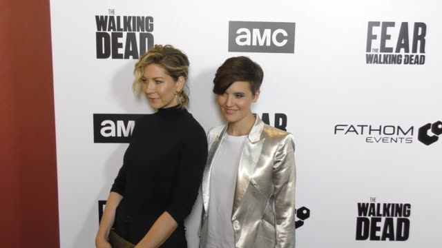 CLEAN Fathom Events And AMC's 'Survival Sunday The Walking Dead And Fear The Walking Dead' on April 15 2018 in Century City California