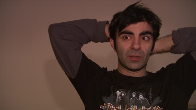 fatih akin on how difficult it was to bring all the directors together at the 59th berlin film festival deutschland '09 interviews at berlin - deutschland stock videos & royalty-free footage