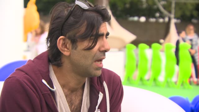 fatih akin on the relevance to modern day issues in the middle east at 'the cut' interview - 71st venice international film festival on september 01,... - 第71回ベネチア国際映画祭点の映像素材/bロール