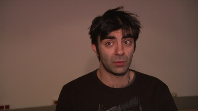 fatih akin on why he wanted to get involved at the 59th berlin film festival deutschland '09 interviews at berlin - deutschland stock videos & royalty-free footage