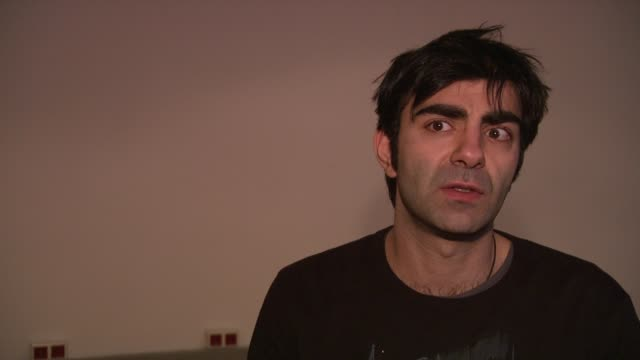 fatih akin on why it's more difficult to make a short film rather than a feature at the 59th berlin film festival deutschland '09 interviews at berlin - deutschland stock videos & royalty-free footage