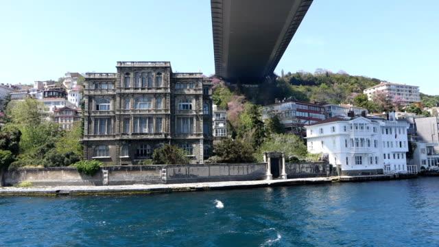 fatih sultan mehmet bridge in istanbul - july 15 martyrs' bridge stock videos and b-roll footage
