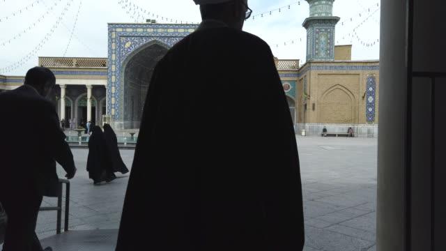 fatima masumeh shrine, qom, iran, western asia, asia, middle east - iran stock videos & royalty-free footage