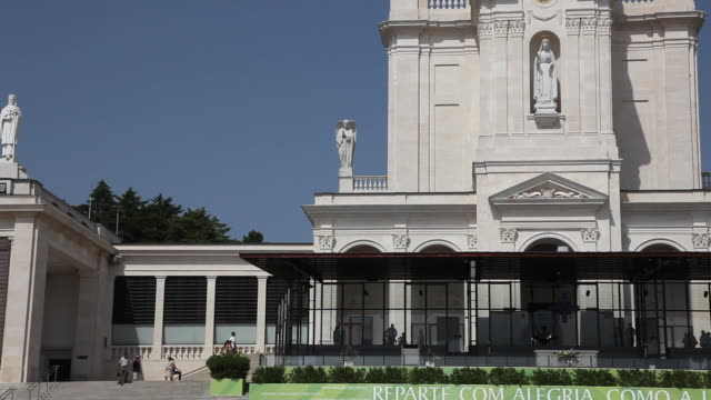 fatima, sanctuary of our lady of fatima - female likeness stock videos & royalty-free footage