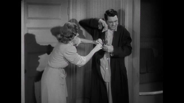 1941 A faulty alarm doesn't wake up their baby and causes parents ( Cary Grant & Irene Dunne) to worry