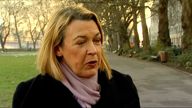 health select committee hearing millbank ext barbara keeley mp interview sot couldn't believe it has taken best part of two years to tell pip implant... - breast implant stock videos and b-roll footage