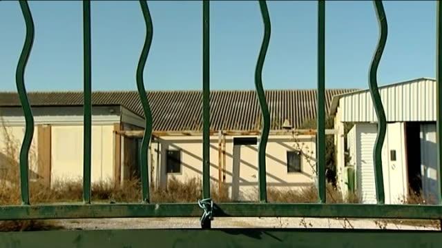 PIP founder under arrest 612012 Toulon La SeynesurMer EXT 'Poly Implants Protheses France' sign TILT UP derelict factory Barred windows of former...