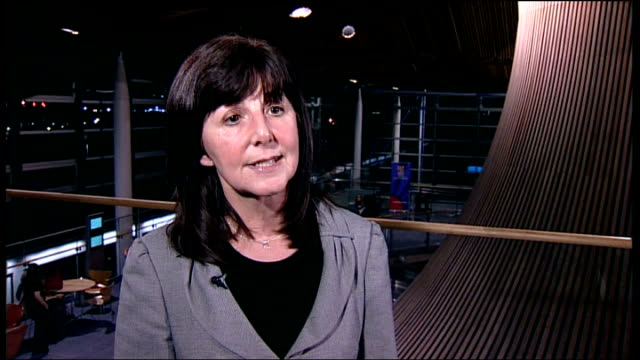 Andrew Lansley to make statement WALES Cardiff Lesley Griffiths AM interview SOT