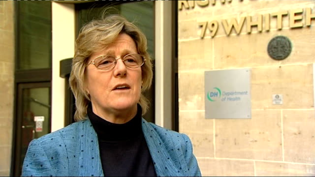 faulty implant figure higher than originally thought London EXT Professor Dame Sally Davies interview SOT