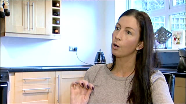 government review recommends no routine removal of implants Zoe Talbot holding breast implant in her hands and interview SOT