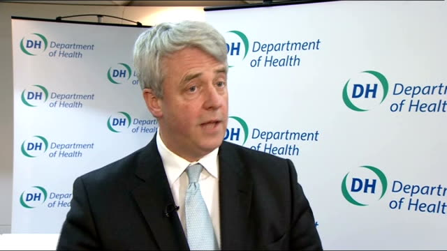 government review recommends no routine removal of implants england london andrew lansley mp interview sot the expert group has made clear there is... - breast implant stock videos and b-roll footage
