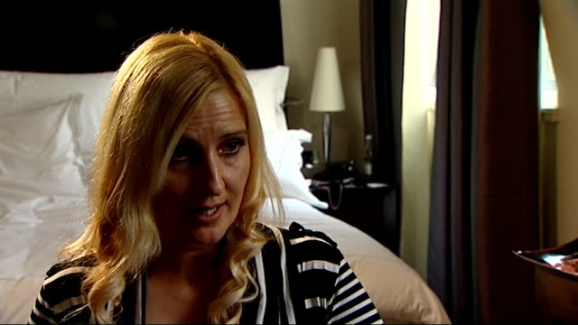 thousands of women seek nhs treatment london ext rachel oates along with reporter rachel oates interview sot stephen hamilton set up shots with... - breast implant stock videos and b-roll footage