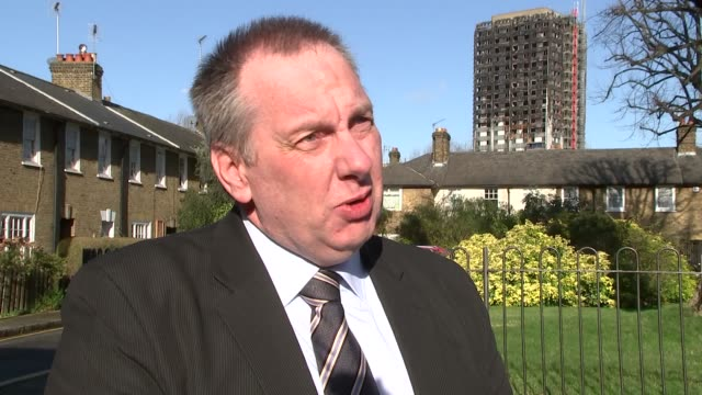 Faulty white goods left in homes cause 60 fires a week London Kensington EXT Stephen Mackenzie interview SOT
