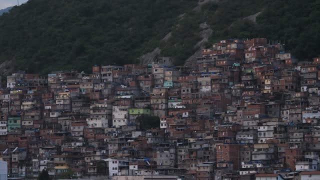 favela building structure rio - favela stock videos and b-roll footage