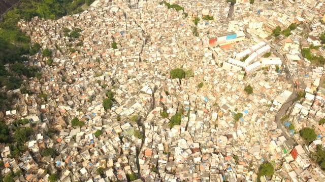 favela da rocinha- rio de janeiro - favela stock videos and b-roll footage