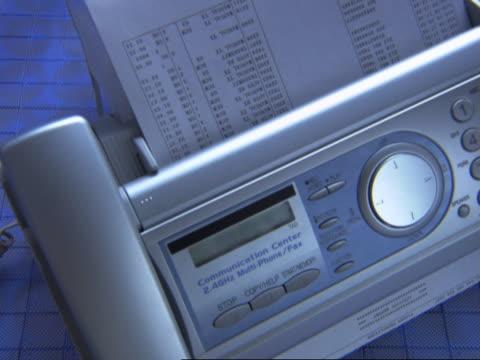 fax machine - fax machine stock videos & royalty-free footage
