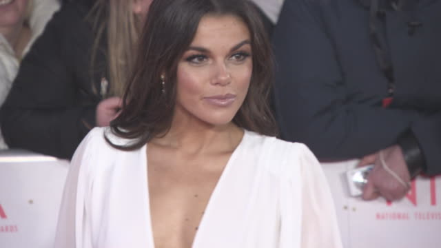 Faye Brookes at National Television Awards at The O2 Arena on January 23 2018 in London England