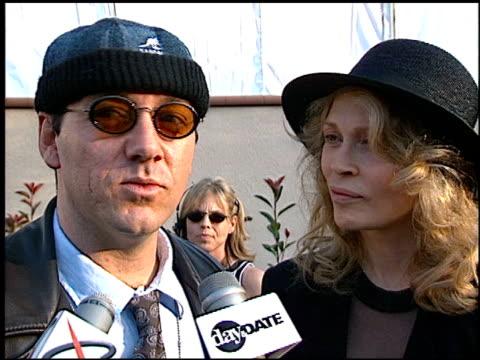 faye dunaway at the 1996 mtv movie awards at disney studios in burbank california on june 8 1996 - faye dunaway stock videos and b-roll footage