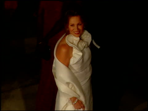 faye dunaway at the 2000 academy awards vanity fair party at mortons in west hollywood california on march 26 2000 - faye dunaway stock videos and b-roll footage