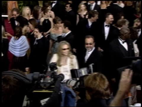 vidéos et rushes de faye dunaway at the 2004 academy awards arrivals at the kodak theatre in hollywood, california on february 29, 2004. - 76e cérémonie des oscars