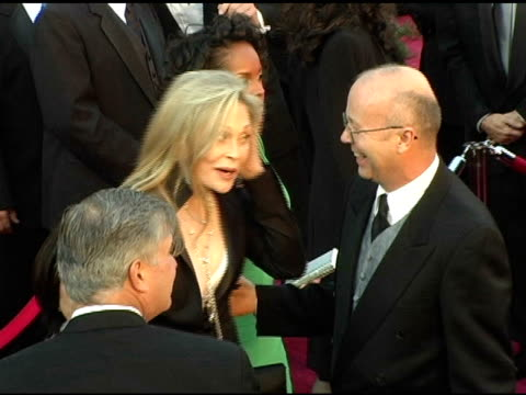 faye dunaway at the 2005 annual academy awards arrivals at the kodak theatre in hollywood california on february 28 2005 - faye dunaway stock videos and b-roll footage