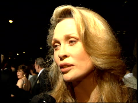faye dunaway at the 'don juan demarco' premiere at academy theater in beverly hills california on april 3 1995 - faye dunaway stock videos and b-roll footage