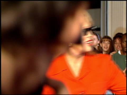 faye dunaway at the planet hollywood entrances on september 17 1995 - faye dunaway stock videos and b-roll footage