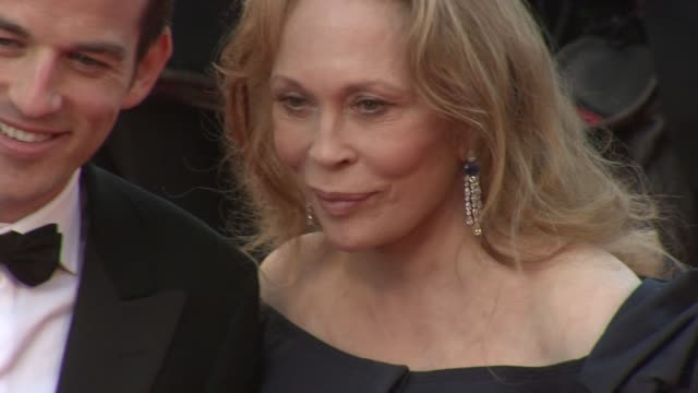 faye dunaway at the 'this must be the place' premiere during the 64th cannes film festival at the this must be the place red carpet arrivals 64th... - faye dunaway stock videos and b-roll footage