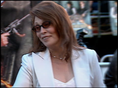 faye dunaway at the 'wild wild west' premiere at the mann village theatre in westwood california on june 28 1999 - faye dunaway stock videos and b-roll footage