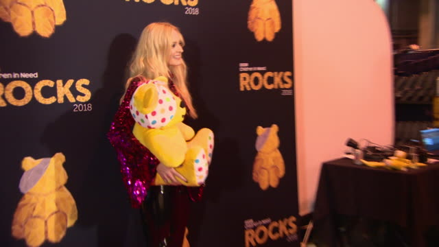 fearne cotton at bbc children in need rocks charity concert on november 7 2018 in london england - fearne cotton stock videos & royalty-free footage