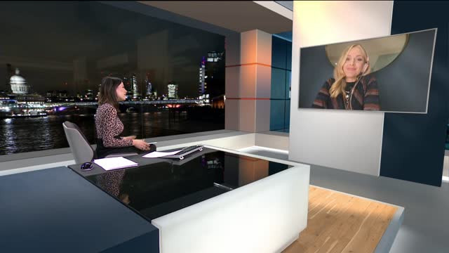 stockvideo's en b-roll-footage met fearne cotton discusses mental health in new book; england: london: gir: int fearne cotton live 2-way interview sot - new not politics