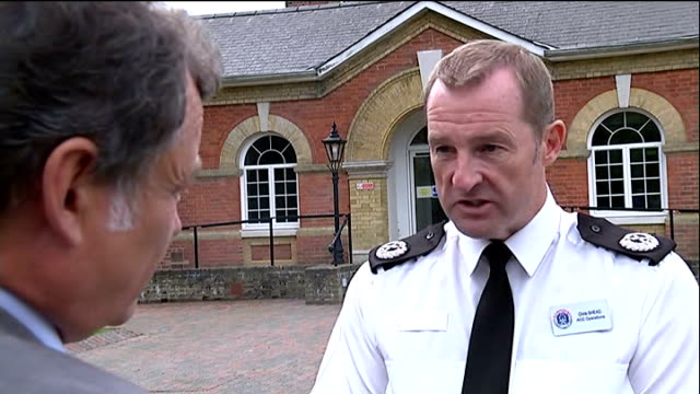 Fears for missing boy with brain tumour EXT Assistant Chief Constable Chris Shead interview SOT