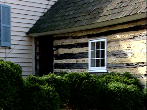 february 17 2006 zo exterior of uncle tom's cabin formerly owned by josiah henson / north bethesda maryland united states - bethesda maryland stock videos & royalty-free footage