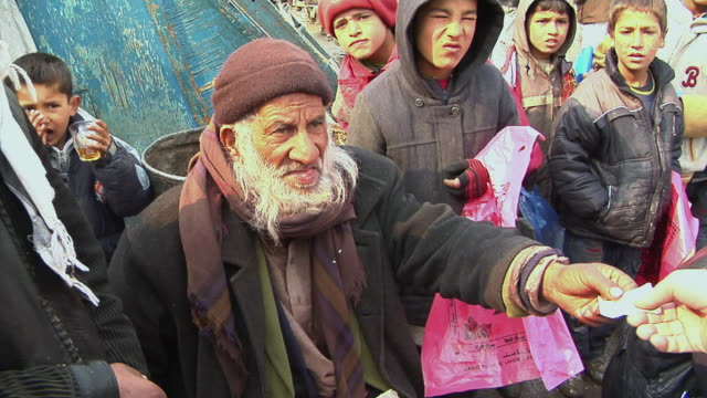 february 2009 ms pan zi street vendor selling eggs / kabul afghanistan - kabul stock videos and b-roll footage