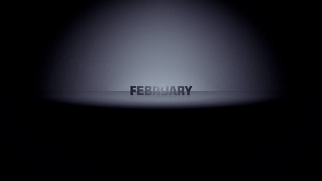 february month horizon zoom - month stock videos & royalty-free footage