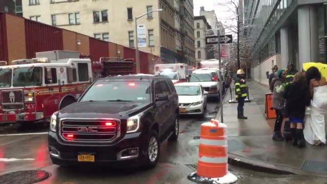A February snowstorm hit NYC with a significant accumulation on Friday morning Firefighters escorted a bride and provided her with an FDNY coat after...