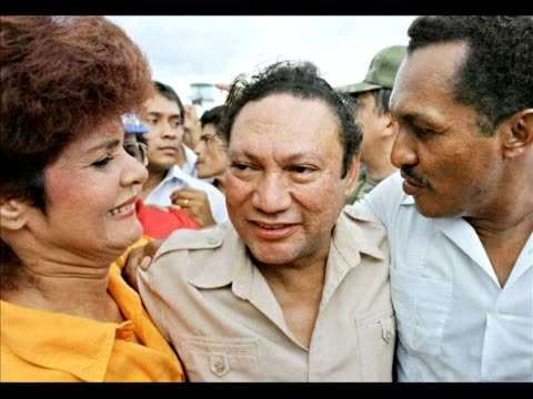 a us federal appeals court has given the green light for panama's former strongman manuel noriega to be extradited to france where he faces money... - legal appeal stock videos & royalty-free footage