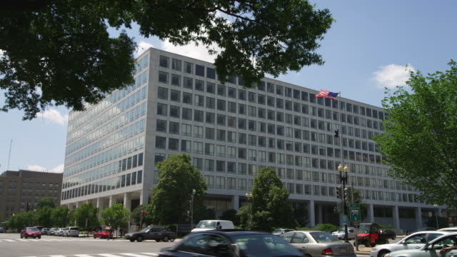 Federal Building at Independence Avenue and 7th Street in Washington DC. Shot in May 2012.