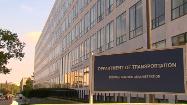 hd federal building transportation_pan1  (1080/24p) - government building stock videos and b-roll footage