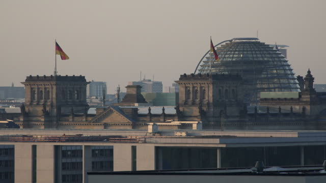 Federal Chancellery Building and Reichstag, Berlin-Mitte, Berlin, Germany