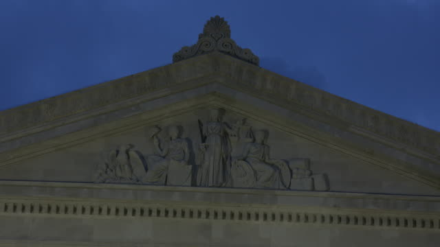 federal reserve bank building on lafayette square in new orleans louisiana usa on wednesday may 31 2017 - pediment stock videos & royalty-free footage