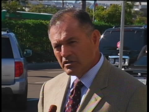 federal security director, michael aguilar comments during a press conference on incident with passenger and blogger john tyner who posted a cell... - conference phone stock videos & royalty-free footage