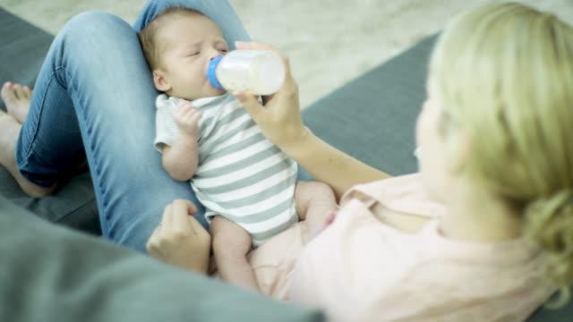 Feeding Her Son