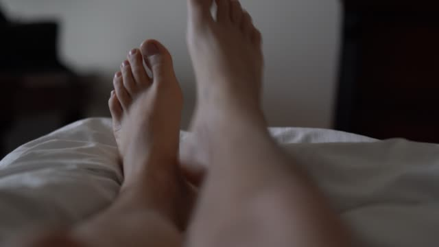 pov of feet in his living room, point of view perspective - domestic room stock videos & royalty-free footage
