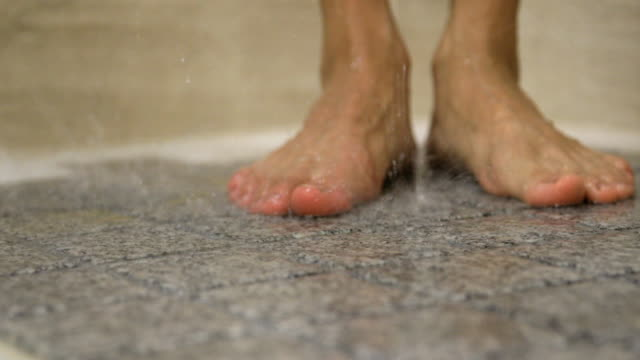 feet in the shower - shower stock videos & royalty-free footage