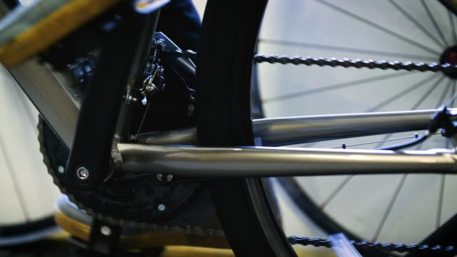 ms feet pedaling bike - pedal stock videos & royalty-free footage